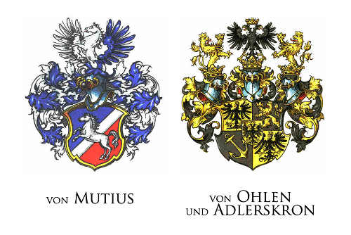 ONE OF THE LONGEST RULING FAMILIES IN KAMIENIEC WAS THE VON MUTIUS FAMILY